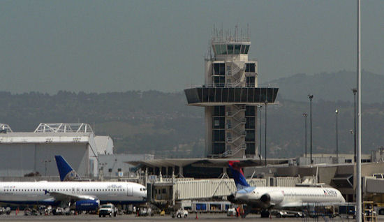 Oakland Airport Control Tower